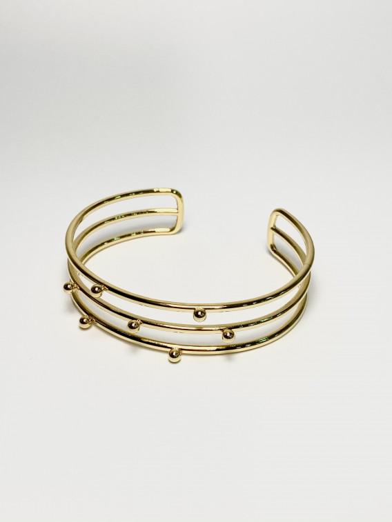 Bracelet rayée à billes | ALIONA